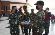 Gubernur AAL Sambut 24 Taruna Korps Marinir Pasca Jalani Pendidikan Komando