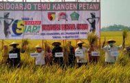 Kodim 0816/Sidoarjo  Bersama Forkopimda Gelar Temu Kangen Dengan Para Petani