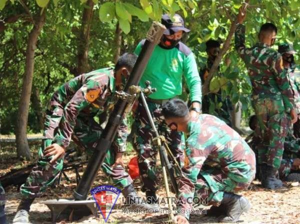 Taruna AAL Korps Marinir Asah Kemampuan Tempur dengan Lattek Senbanif