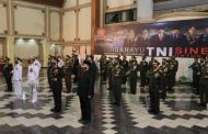 Secara Virtual dan Terbatas, Forpimda Jatim ikuti Upacara HUT TNI ke 75