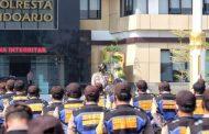Kapolresta Sidoarjo Perkuat Peran Bhabinkamtibmas dalam Penanganan Covid-19 dan Pilkada Sehat