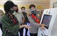Srena Polri Tinjau Pelayanan Publik Polresta Sidoarjo, Maksimal Melayani di Tengah Pandemi