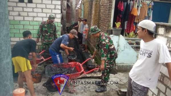 Antisipasi banjir di Lamongan dengan Karya Bakti