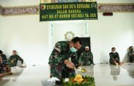 Doa Bersama Dalam Rangka HUT Korem 083/Bdj Yang Ke – 57