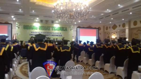 Universitas Bakti Indonesia(UBI),Sekolah Tinggi Islam Blambangan(STIB) Banyuwangi Menggelar sidang senat terbuka .