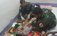 Khitan Massal Untuk Warga Perbatasan Indonesia-Papua Nugini