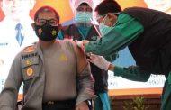 Kapolresta Sidoarjo Himbau Agar Masyarakat Jangan Takut Dengan Vaksin Covid-19