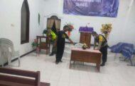 Aparat Gabungan Sisir Sejumlah Gereja di Lamongan