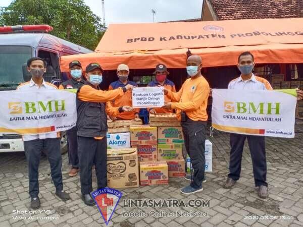 Tanggap Bencana, Laznas BMH Kirim Bantuan Untuk Korban Banjir Probolinggo