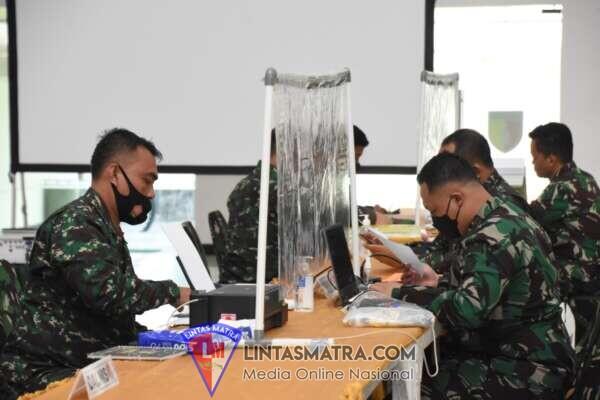 Korem 084/Bhaskara Jaya Terima Kedatangan Tim Wasrik Irjen TNI