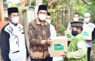 Bupati Sidoarjo Gus Muhdlor Memberikan Santunan Anak Yatim dan Dhu'afa di Bulan Ramadhan