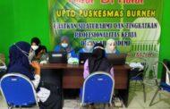 Bersama UPTD Puskesmas Burneh, PT Bintang Teknik Nyata Mewujudkan Bebas Covid 2021