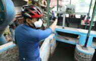Siaga Banjir, Bupati Gus Muhdlor Mengecek Kesiapan Lima Rumah Pompa, Termasuk Depan Lippo Mall