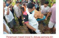 Penemuan Mayat Perempuan diduga Gantung diri di dusun Bloro tengah Desa Bloro Situbondo