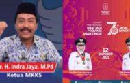 """""""JATIM BANGKIT,"""" Ketua MKKS SMKN Se Kab Pasuruan, Menyampaikan Selamat Hari Jadi Prov Jatim Ke 76"""